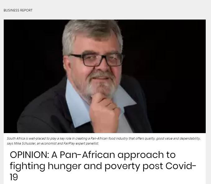 Opinion A Pan-African Approach to fighting hunger and poverty post Covid-19